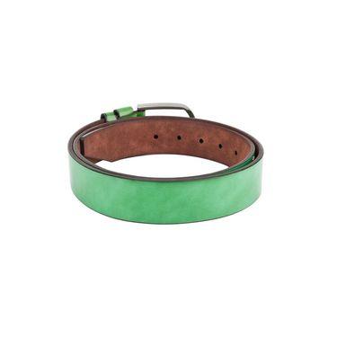 Swiss Design Leatherite Casual Belt For Men_Sd03gr - Green