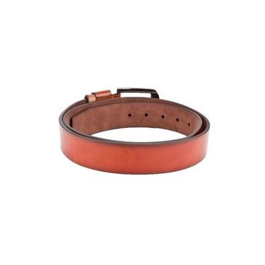 Swiss Design Leatherite Casual Belt For Men_Sd05tn - Tan