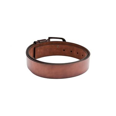 Swiss Design Leatherite Casual Belt For Men_Sd113br - Brown