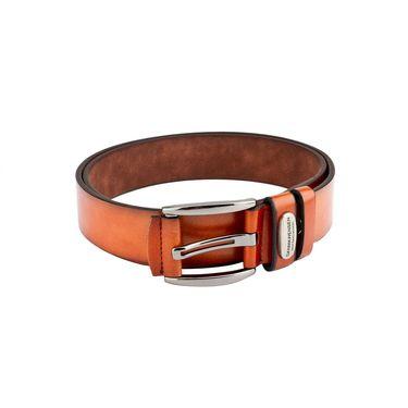 Swiss Design Leatherite Casual Belt For Men_Sd115tn - Tan