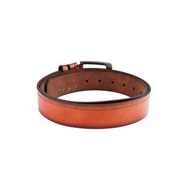 Swiss Design Leatherite Casual Belt For Men_Sd118tn - Tan