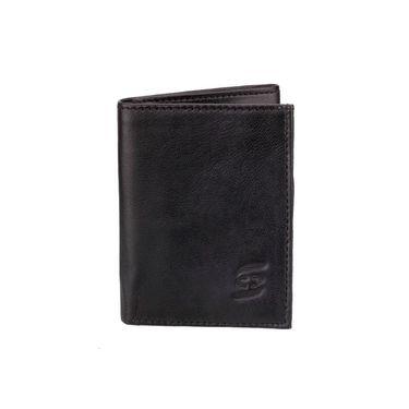 Swiss Design Stylish Wallet For Men_Sdw71226bk - Black