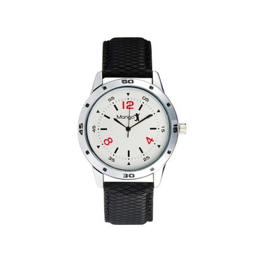 Mango People Round Dial Watch For Men_MP005 - White
