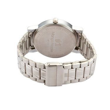 Mango People Round Dial Watch For Men_MP019 - White