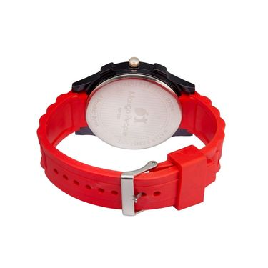Mango People Round Dial Watch For Men_MP030 - Red