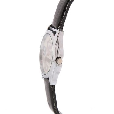 Mango People Round Dial Watch For Women_MP1004Blk - White