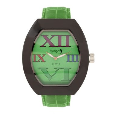 Mango People Round Dial Watch For Women_MP205GR01 - Green