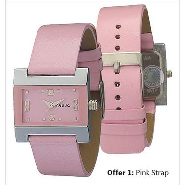 Oleva Analog Wrist Watch For Women_Olw4p - Pink