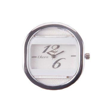 Oleva Analog Wrist Watch For Women_Olw11w - White