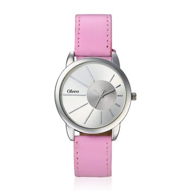 Oleva Analog Wrist Watch For Women_Olw13p - Pink
