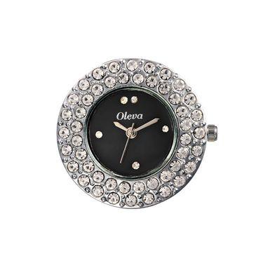 Oleva Analog Wrist Watch For Women_Olw16b - Black