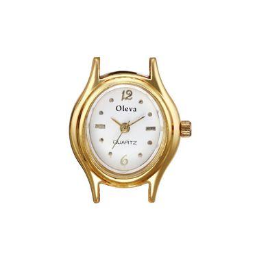 Oleva Analog Wrist Watch For Women_Opw1wo - White