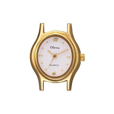 Oleva Analog Wrist Watch For Women_Opw85 - White