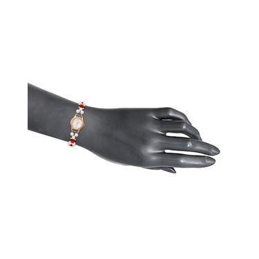 Oleva Analog Wrist Watch For Women_Opw103 - White