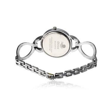 Oleva Analog Wrist Watch For Women_Osw11w - White
