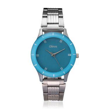 Oleva Analog Wrist Watch For Women_Osw12blu - Blue