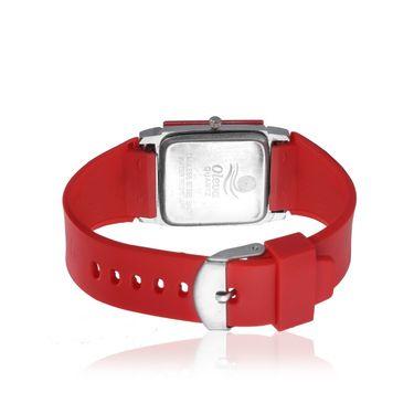 Oleva Analog Wrist Watch For Women_Opuw30r - Red