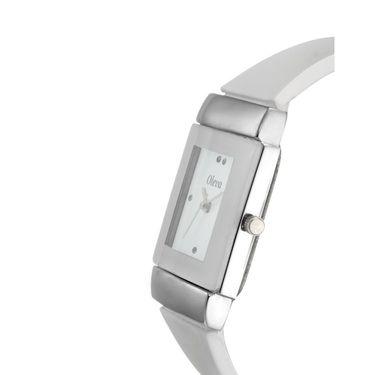 Oleva Analog Wrist Watch For Women_Opuw30w - White