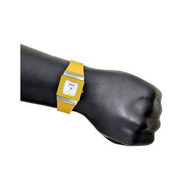 Oleva Analog Wrist Watch For Women_Opuw30y - Yellow