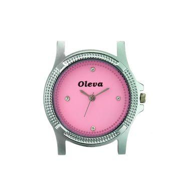 Oleva Analog Wrist Watch For Women_Opuw32p - Pink