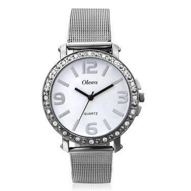 Combo of 3 Oleva Analog Wrist Watches For Women_Ovd179