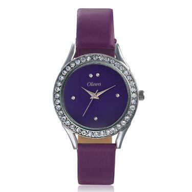 Combo of 3 Oleva Analog Wrist Watches For Women_Ovd173