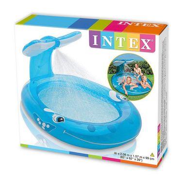 Intex Whale Spray Pool - Fun for Kids