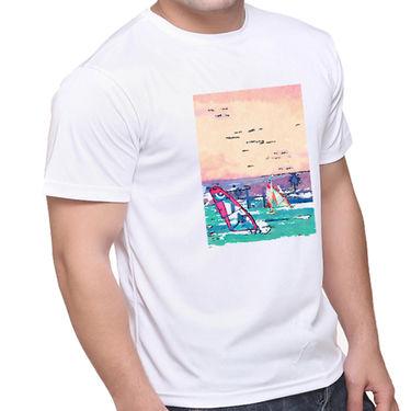 Oh Fish Graphic Printed Tshirt_Cgtsfgds