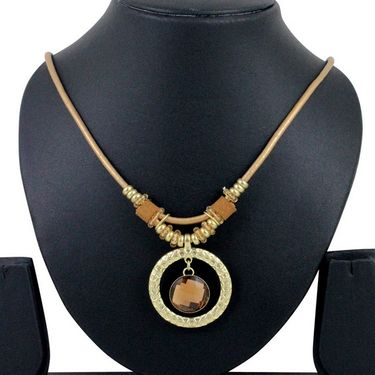 Spargz Alloy Metal Necklace_Mala055