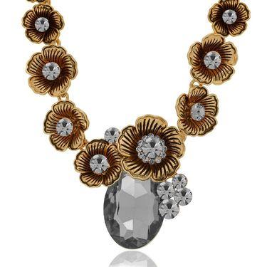 Spargz Alloy Metal Necklace_Mala077
