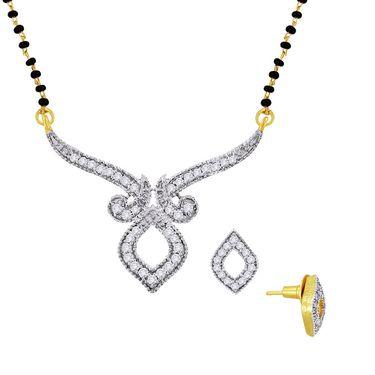 Spargz Brass Metal Mangalsutra Set_Aims029