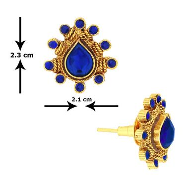 Spargz Brass Metal Pendant Set_Aips174