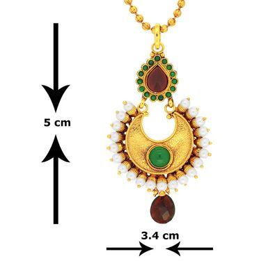 Spargz Brass Metal Pendant Set_Aips179