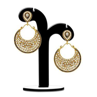 Spargz Brass Metal Earring_Aier342