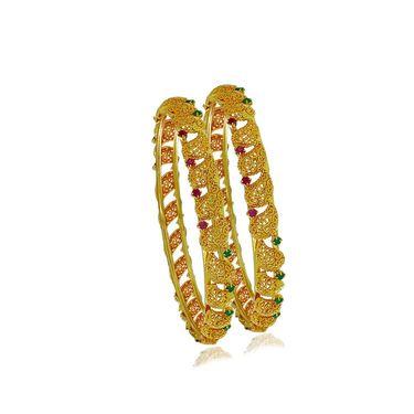 Spargz Brass Metal Bangle_Aib030