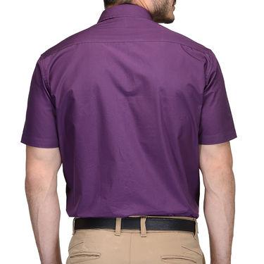 Being Fab Cotton Formal Shirt_Bfs28 - Purple