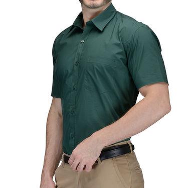 Being Fab Cotton Formal Shirt_Bfs29 - Dark Green