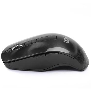 DGB Curve 3D Wireless Optical Mouse (Black)