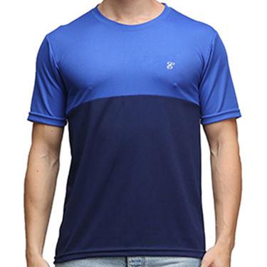 Effit Half Sleeves Round Neck Tshirt_Etsprnnvro - Navy