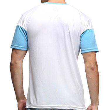 Effit Half Sleeves Round Neck Tshirt_Etsprnur - White