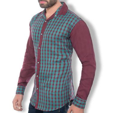 Printed Cotton Shirt_Mfsd30088 - Multicolor