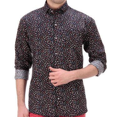 Printed Cotton Shirt_Gkdcsblblurdt - Multicolor