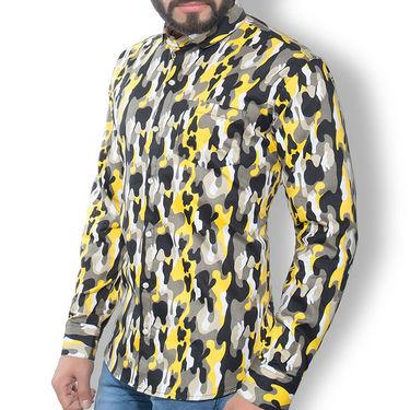 Printed Cotton Shirt_Gkdcsyelbl - Multicolor
