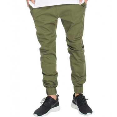 Plain Cotton Trackpant_Gkjoggco - Green