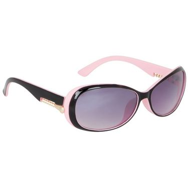 Alee Oval Plastic Women Sunglasses_Rs0221 - Pink