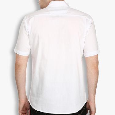 Pack of 2 Stylox Cotton Shirts_3034 - White & Black