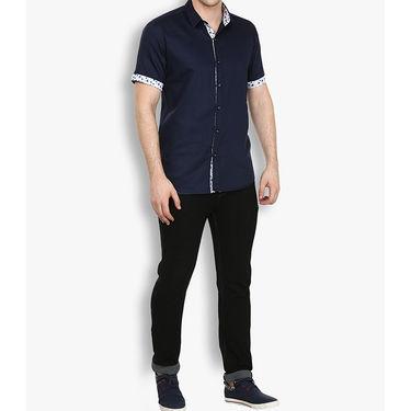 Stylox Cotton Shirt_nvyhfp031 - Navy