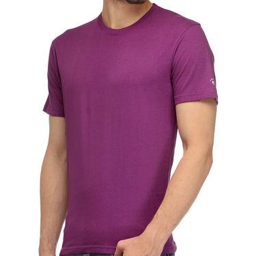 Rico Sordi 100% Cotton Tshirt For Men_Rnt014 - Purple