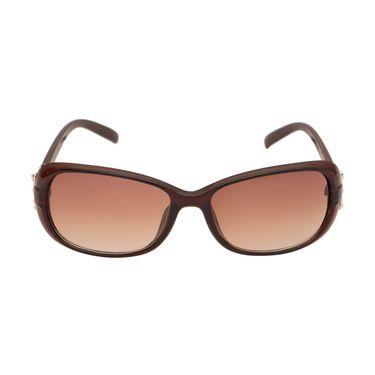 Adine Oval Plastic Women Sunglasses_Rs01