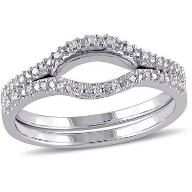 Kiara Swarovski Signity Sterling Silver Ranchi Ring_KIR1017
